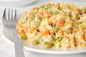 Рецепт салату «Олів'є»