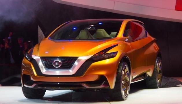 2015 Nissan Murano: перші подробиці третьої генерації