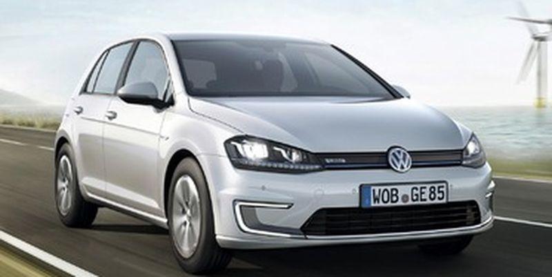 Електричний Volkswagen Golf надійшов у продаж