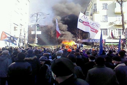 Київ переходить під контроль Євромайдана