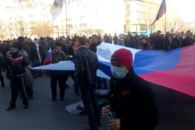Донецьк слідом за Кримом приєднується до Росії?