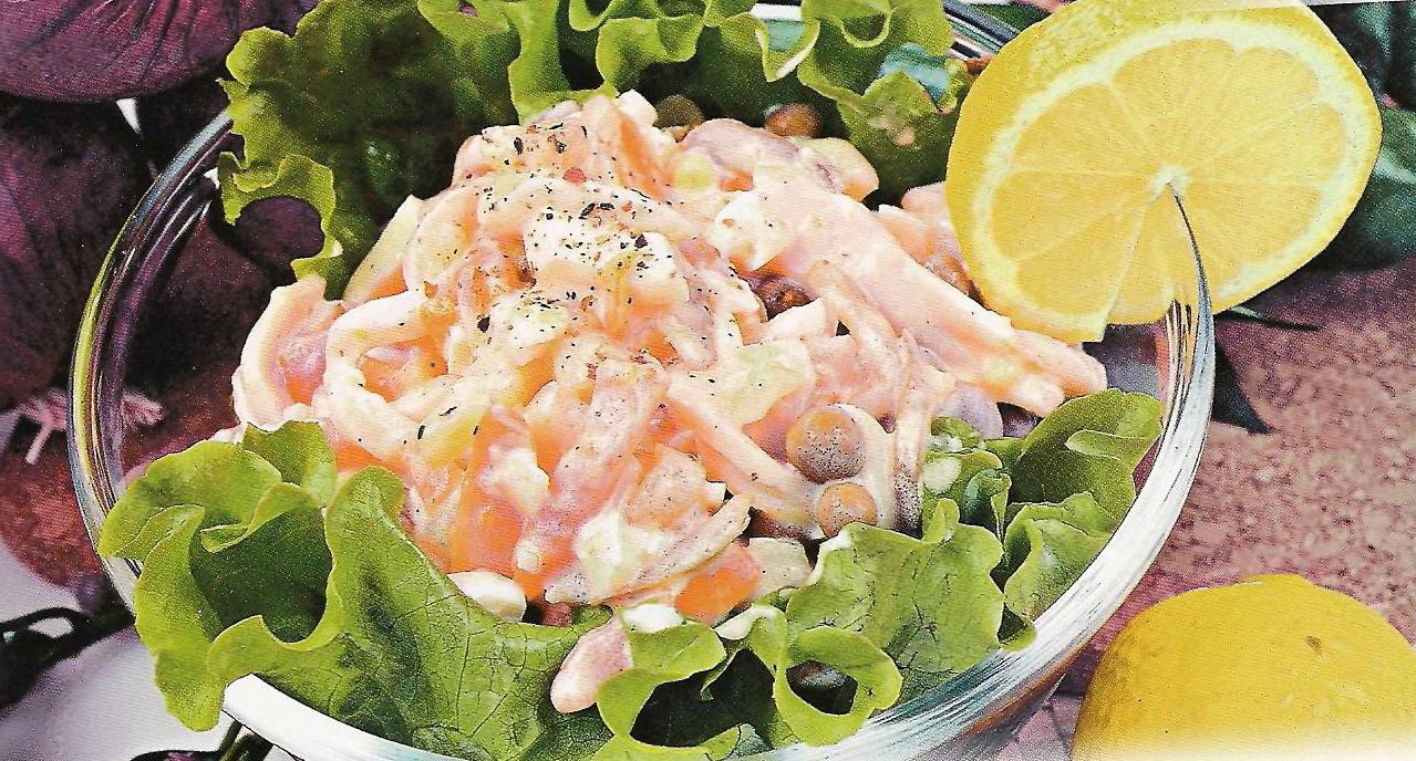 рецепты вкусных салатов на день рождения простые и вкусные