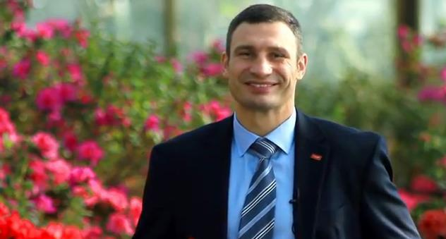 Віталій Кличко — новий мер Києва