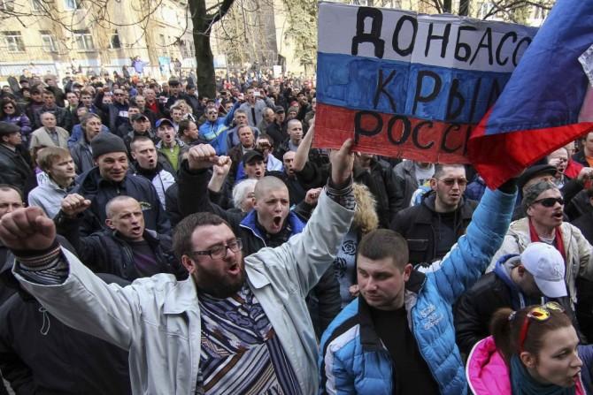 Не з добром прийшли на Донбас москалі, а за добром