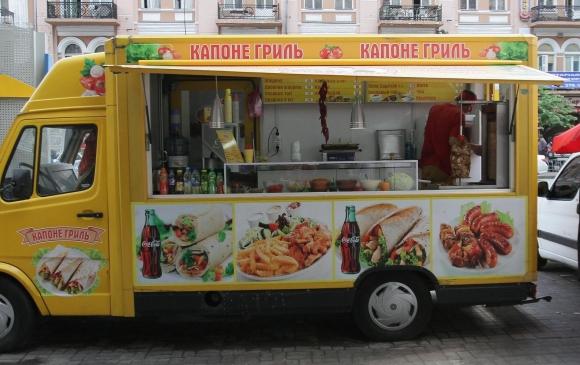 Особливості вуличної їжі в Києві