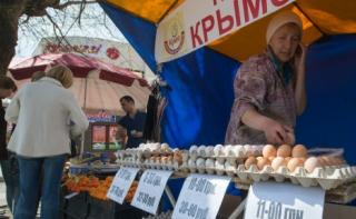 У Криму закінчилися часи порожніх полиць
