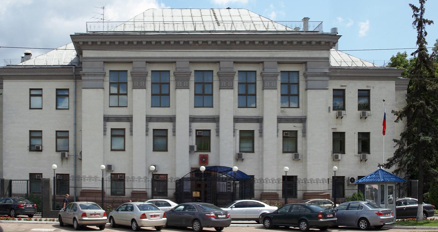 Євросоюз засудив розгром під російським посольством у Києві
