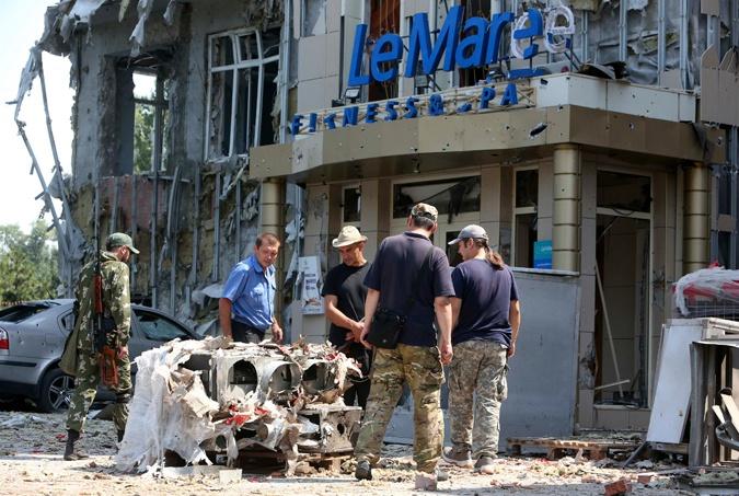 Донецьк: З міста виїхали навіть найстійкіші
