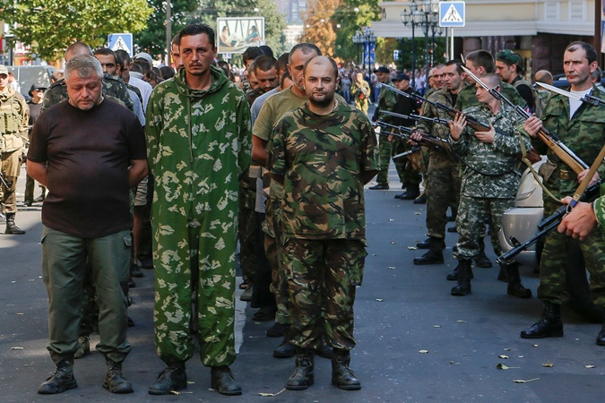 Реакція жителів Донецька на те, що ДНР влаштувала «марш» військовополонених