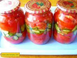 Консервовані салати з помідорів