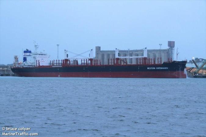 Під Одесою стоїть на карантині судно з Гонконгу, заражене вірусом Ебола