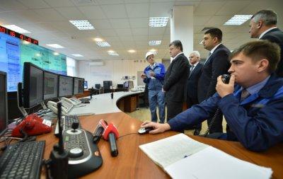 Два гідроагрегати Дністровської ГАЕС запущені — Порошенко