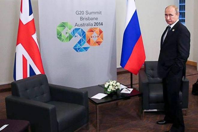 Втеча Путіна з Австралії