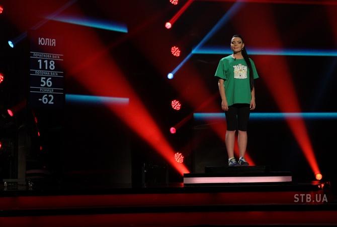 Переможницею шоу «Зважені та щасливі-4» стала Юлія Фоміна