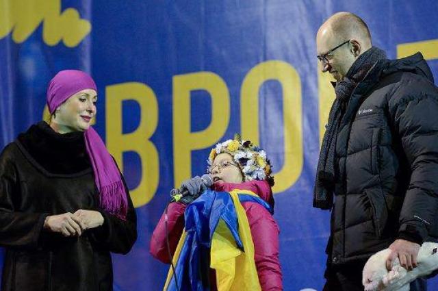 Дочка Арсенія Яценюка виступила на шоу «Голос. Діти»