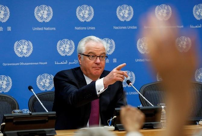 Чуркін: Введення миротворців в Україну суперечить мінським домовленостям
