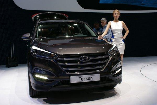 Новий Hyundai Tucson приїде в Україну влітку 2015