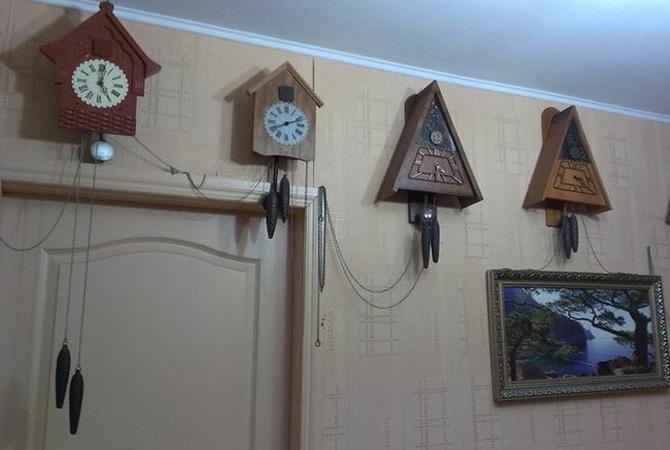 Подружжя з Павлограда зібрали унікальну колекцію старовинних годинників