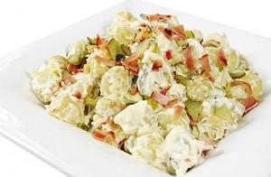 Картопляний салат з сиром і яйцями — Сільський