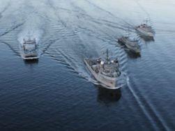 Бойові кораблі РФ зайняли позиції біля Маріуполя