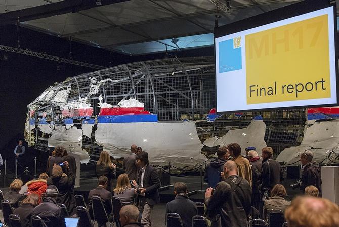 Звіт Нідерландів про катастрофу «Боїнга 777»
