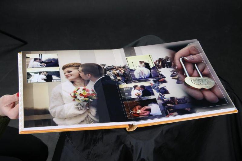 Печать свадебных фотоальбомов