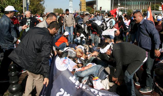 Число жертв вибухів в Анкарі перевищило 80 людей, більше 180 постраждалих