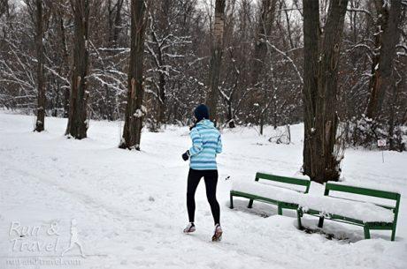 Переваги пробіжок в зимовий час