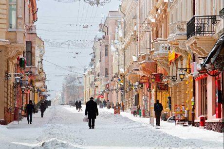 На Новий рік в Чернівці
