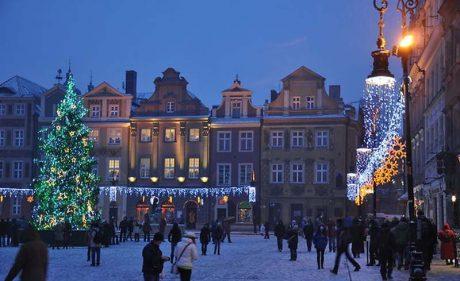 на Новий рік в Польщу