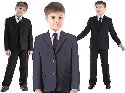 Советы по выбору школьного костюма для маленького сорванца