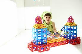 Польза магнитного конструктора для ребёнка