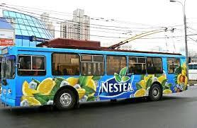 Переваги реклами на транспорті
