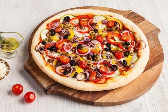 Овощная пицца от Roll Club — быстро, полезно и вкусно