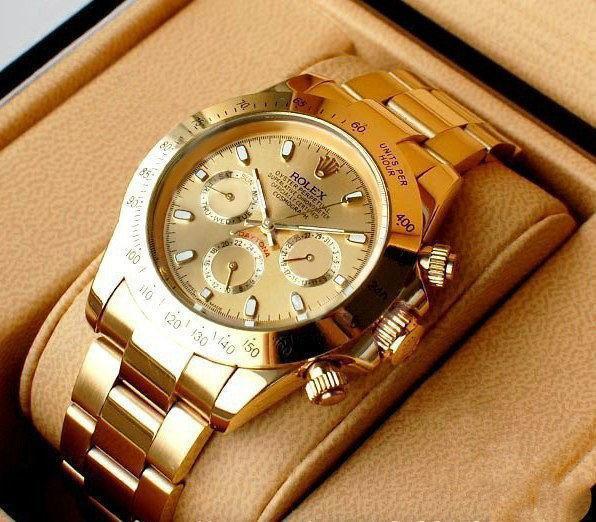Золотые часы в подарок – лучший выбор презента