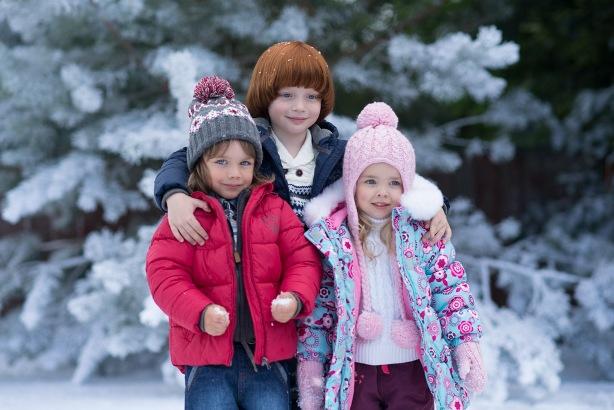 Зимний гардероб для ребёнка