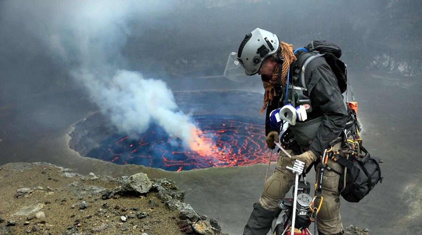 Максим Криппа — вулканолог по призванию