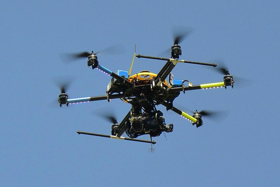 Профессиональные дроны в хозяйственной деятельности