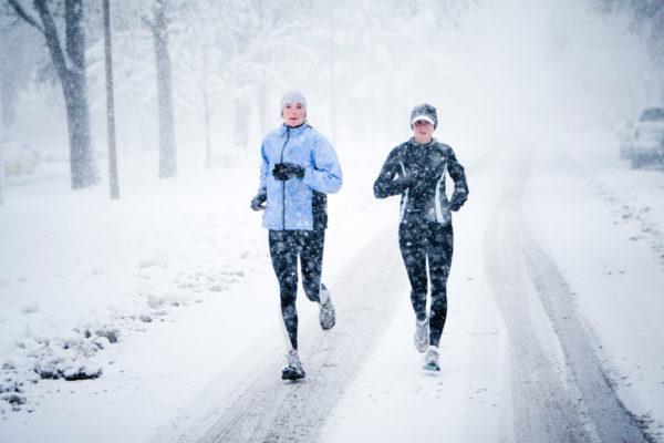 Можно ли заниматься бегом на улице в мороз