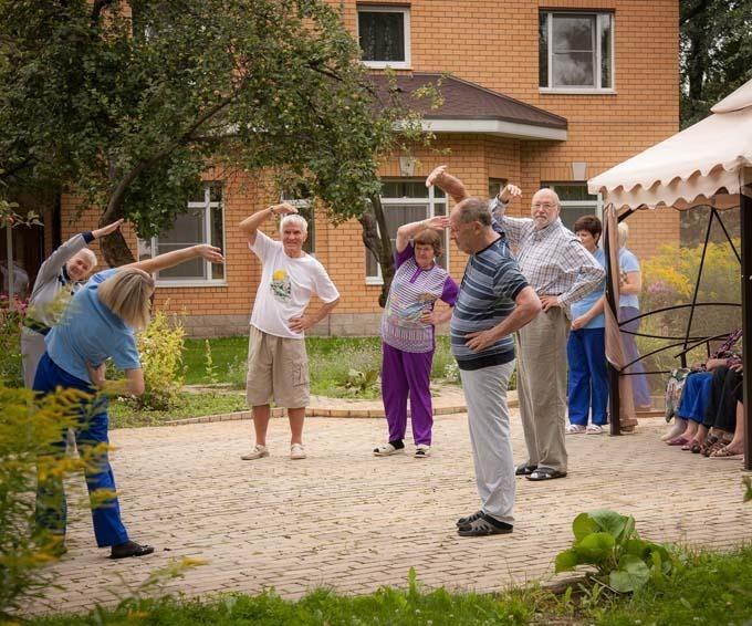 Достойное место для пожилых — это частный пансионат