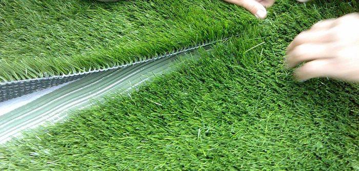 Искусственная трава как замена для настоящего газона